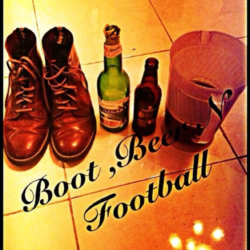 With bro Boots Beer N Football Drmartensstyle Firstandforever Me Now Docmart Kesegaran Drink Minahasa Boot Boots❤