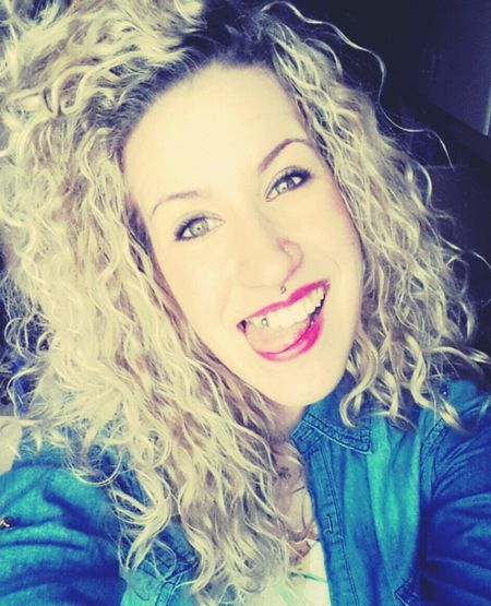 Hello World Newpiercing Hi! Cheese! Girl That's Me Smile Blonde Sefie Italy