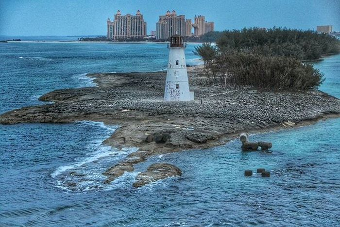 Bahamas Nassau Cruise Lighthouse Travel Water Architecture Travelingram Atlantisbahamas Nature_shooters Naturephotography Nature Atlantis, Bahamas.