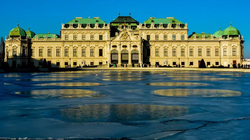 Vienna Winter Belvedere