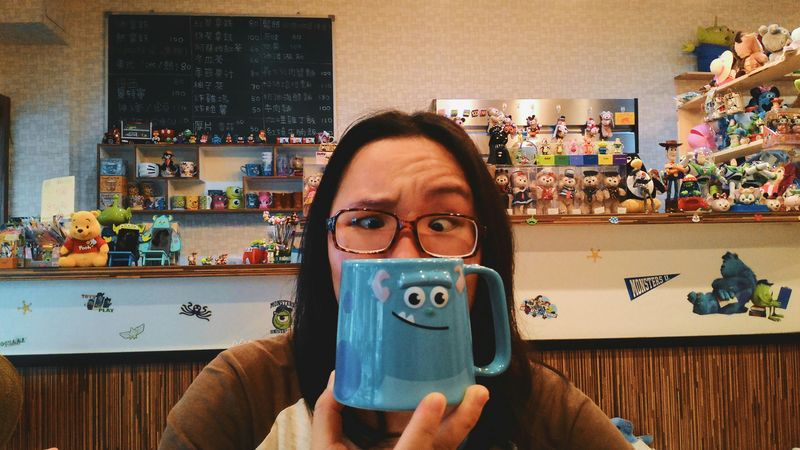 Taichung, Taiwan Vscocam Enjoying Life Exploretaiwan 台灣 Daily Life Monsters INC Letsgosomewhere EyeEm Gallery Taiwan Lifeisbeautiful Holiday And Relaxing Afternoon Coffee And Sweets