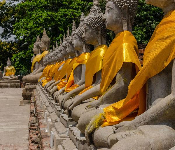 Statue of buddha temple