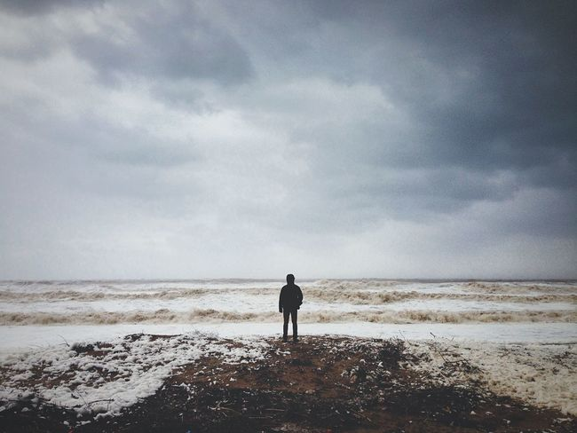 Storm Rain Rainy Days Sea Beach Stormy Weather Foam RePicture Travel The Traveler - 2015 EyeEm Awards It's Cold Outside The Great Outdoors With Adobe Welcome To Black