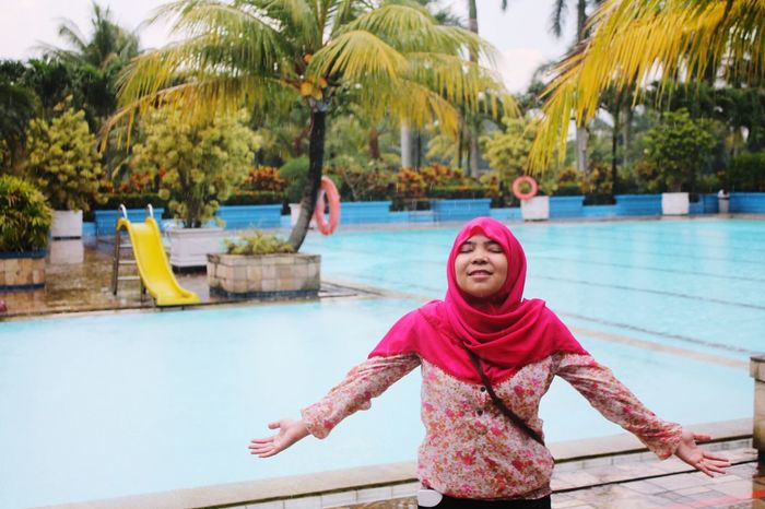 I Am Free Swimming Peace And Quiet Damai Tenang Vscocam #vsco Happiness♥