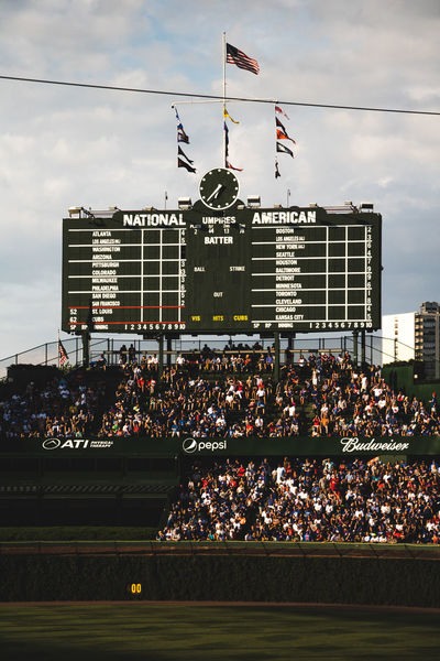 The Friendly Confines Baseball Chicago Cubs Historical Building North Side Wrigley Field Baseball Diamond Baseball Park Diamond Old Stadium