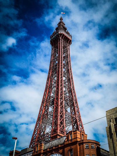 The Iconic and Famous Blackpool Tower AndySage Blackpool Famous Lancashire Tourist Architecture Blackpool Tower Building Exterior Built Structure Historic History Iconic Landmark Low Angle View Metal Mobilephotography No People Outdoors Photo Photography Tall - High Tourism Tower Travel Travel Destinations