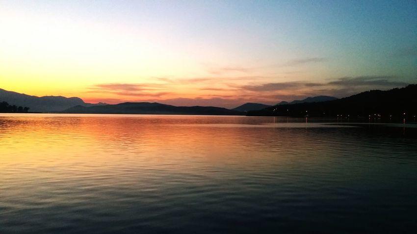 Poros Poros Island Sunset sunset #sun #clouds #skylovers #sky #nature #beautifulinnature #naturalbeauty photography landscape