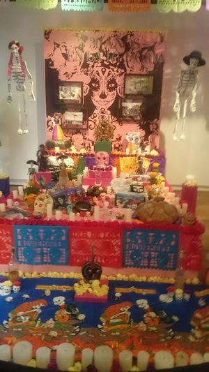 Mexico In Colombia Museo Nacional De Colombia Dia De Los Muertos Haloween Happiness FAMILIA♥
