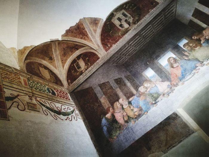 The Last Supper Da Vinci Fresca Milano Art Culture Da Vinci Code