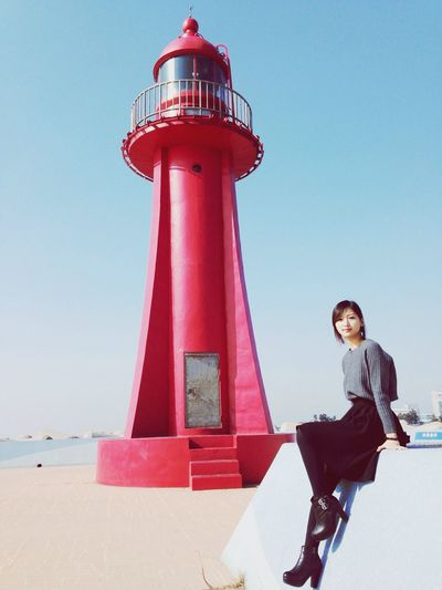:) 신난당 Taking Photos That's Me Today's Hot Look Lighthouse