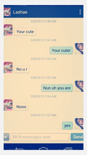 "Those ""your Cuter Arguments"" Ilove My Baby<3"
