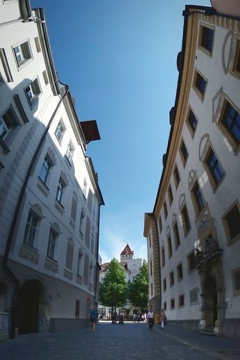Architecture Building Exterior Clear Sky Town Square Architecture_collection Old Town Regensburg Urban Exploration Panorama Panoramic Photography