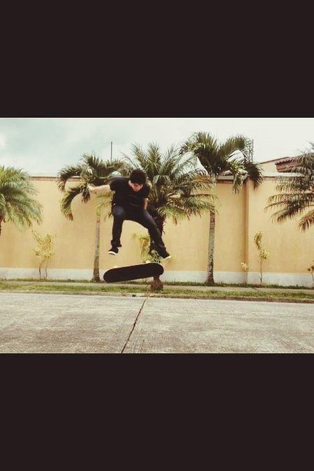 Me Skateboarding