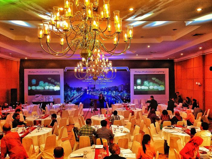 Late post Event philips LED seminar at samarinda