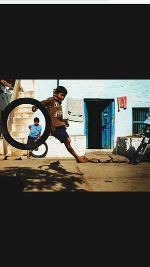 Bachpan ki yaade..... Street playing The Street Photographer - 2017 EyeEm Awards