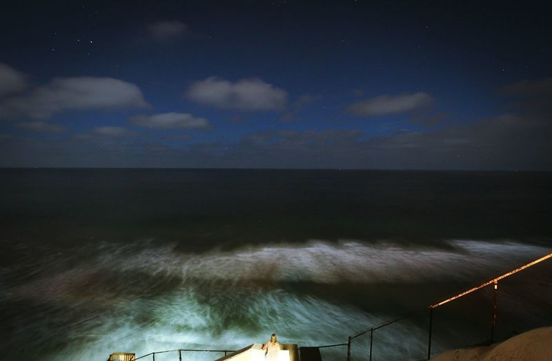 Me Scenics California Love Night Lights Nightphotography Sea And Sky Seascape Photography Seaview Seaside_collection Seascape Woman Gazing At Nature Gazing At The Sky Nature_collection Nature Photography California Coast California Dreaming