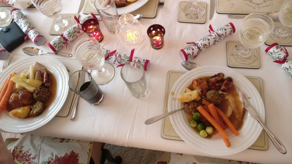 Christmas Dinner Ready-to-eat Christmastime Throwback Food DeliciousFood