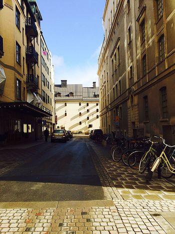 Eyeemphotography EyeEm City Buildings And Sky Buildings,style,arquitecture,sky EyeEmBestPics EyeEm Gallery Town Stockholm, Sweden Street Street Photography Eyeem Streetphotography