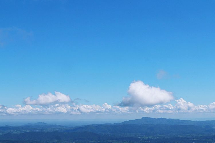 Nature Blue Mountain Copy Space Sky Tranquility Beauty In Nature Landscape No People Scenics Outdoors Day