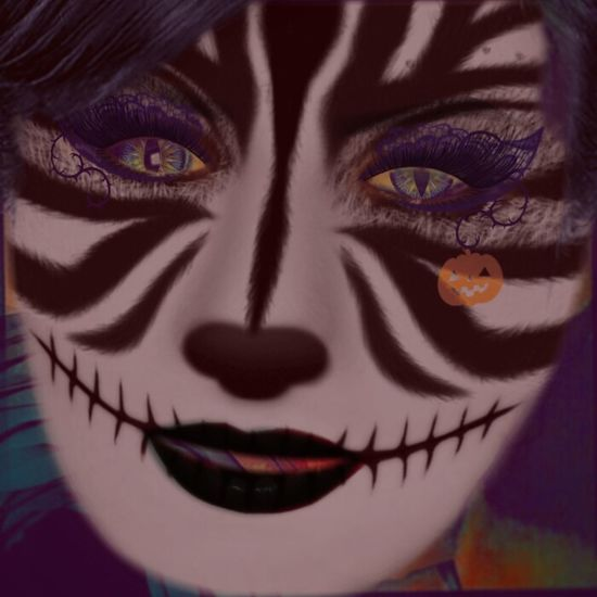 Through The Looking Glass #CheshireCat #digitalart #digitalportrait #meow Backgrounds Beautiful People Close-up Digital Painting Eyelash Front View Full Frame Graphic Design Human Eye Human Face Looking At Camera Make-up Mask - Disguise Person
