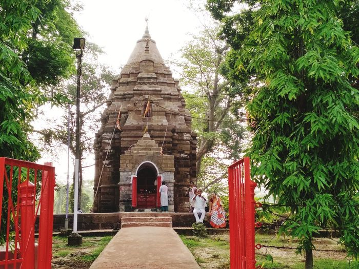 Indian Temple... Place Of Worship Religion Spirituality Tree Statue Pagoda Architecture Built Structure