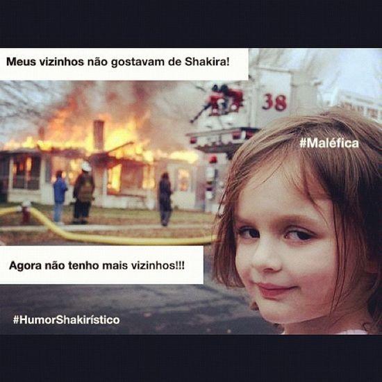 Meus vizinhos não gostavam de Shakira! HumorShakir ístico Shakirabrasil Shakira