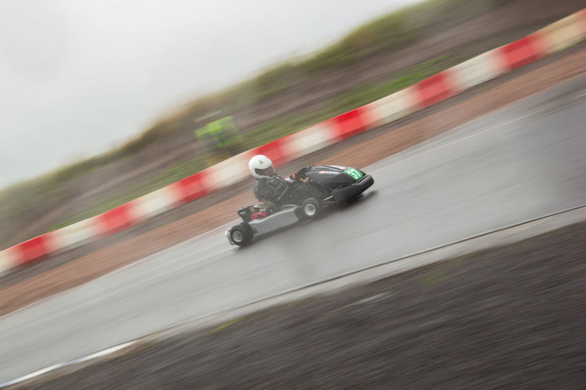 E.S.K.C Pro Kart Scottish ProKarts Blurred Motion Day Defocused Eskc Go Kart Racing Go Karting Land Vehicle Mode Of Transport Motion No People Outdoors Riding Road Speed Sports Race Sports Track Transportation