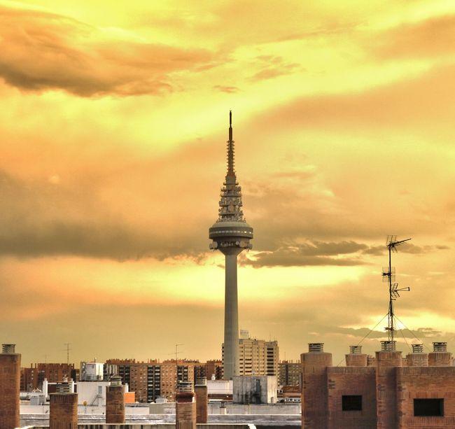 Madrid Dorado Sky EyeEm Best Edits