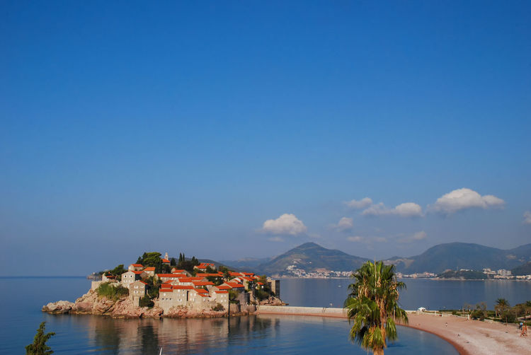 The iconic sveti stefan in montenegro