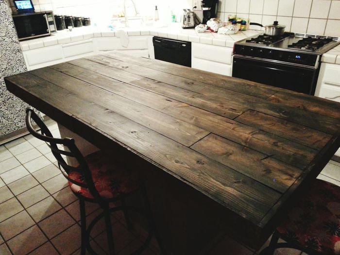 Custom counter top for kitchen island.... Countertops kitchenisland
