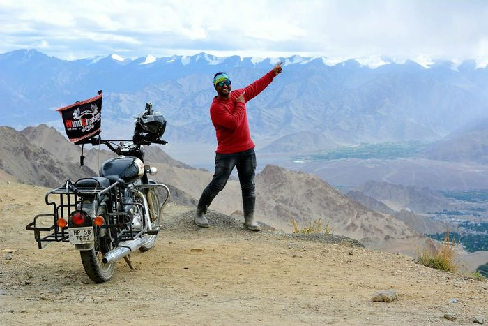 Adventure Mountain Foggy Mountains Mountain View Mountain Biking Sky And Clouds Mountains And Sky Biker Motorcycle Bike Rider Rider Mountains Fog Ice Mountain Fog Hills Clouds At A Time Looking Up Showing Nature Showing Clouds Model Modeling Model Pose Model Type Model Style