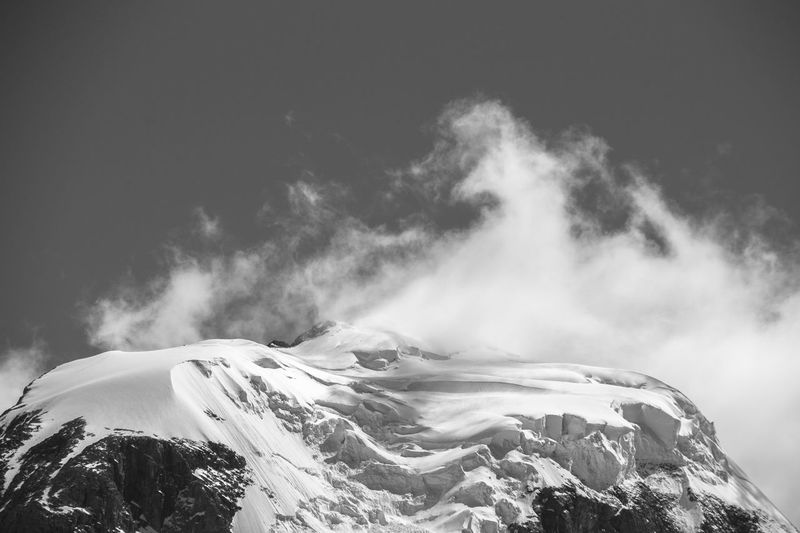 Emotional landscape. Mountains Cloud And Mountain Patagonia Patagonia Argentina Fitzroy Pretoebranco Blackandwhite