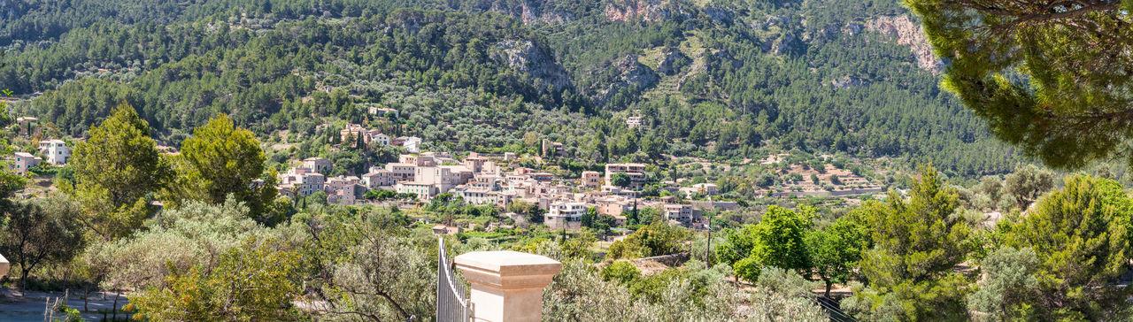 Mountain village on the west coast of Mallorca in Spain Hill; Mountain; Summer; Village; Balearic; Building; Mallorca Spainmountain Village; Vacation