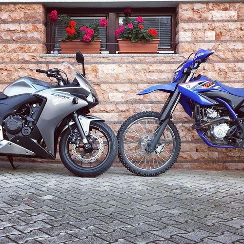 Honda Cbr500r Yamaha Wr125r