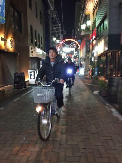 Streetphotography Japan ママチャリ