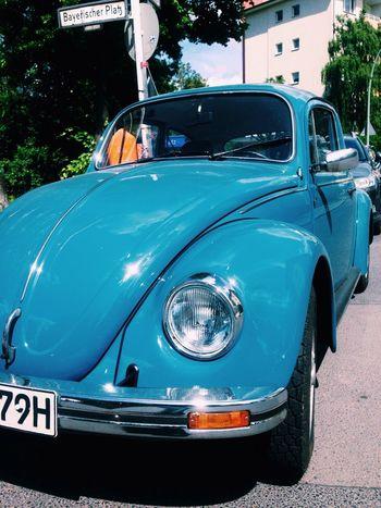 Walking Around Taking Photos VW Beetle