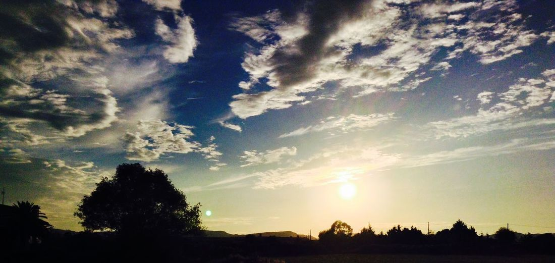Find John Lennon between the clouds Cantabria Laredo Sunset Summer Nature Sky