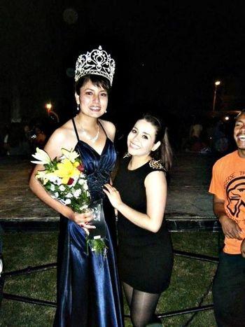 con la princesa :D