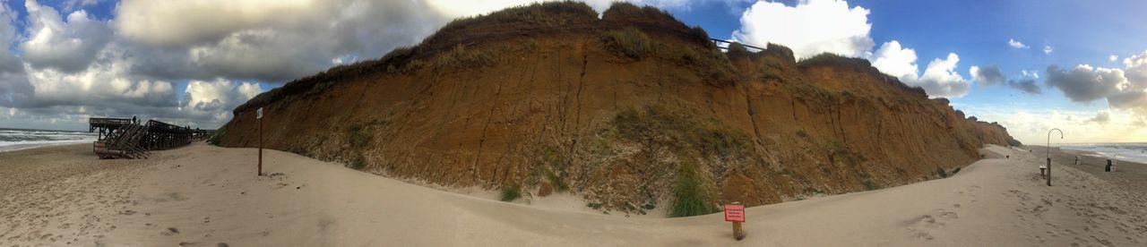 Cloud - Sky Sky Panoramic Beach Nature Land Sand