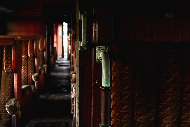 Abandoned Places Abandoned Train - Vehicle Train Indoor Photography Indoors  Seats Old Trainphotography EyeEmNewHere