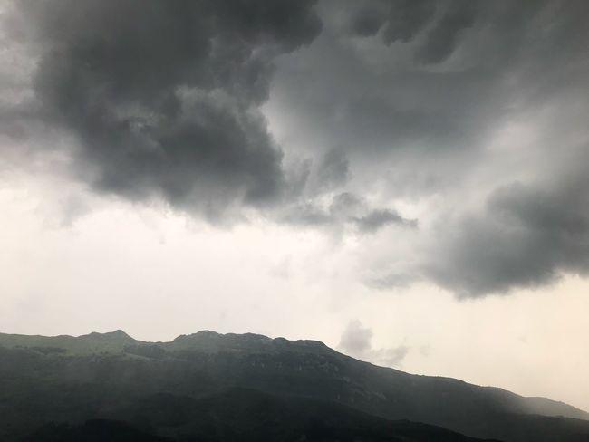 Tormenta Lluvia Cloud - Sky Beauty In Nature Mountain Scenics - Nature Storm Cloud