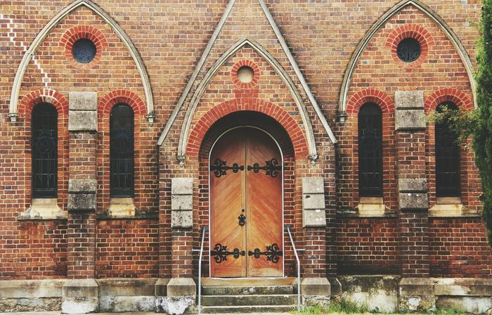 Goulburn Church Brick Red Brick Historic Architecture_collection Architecture