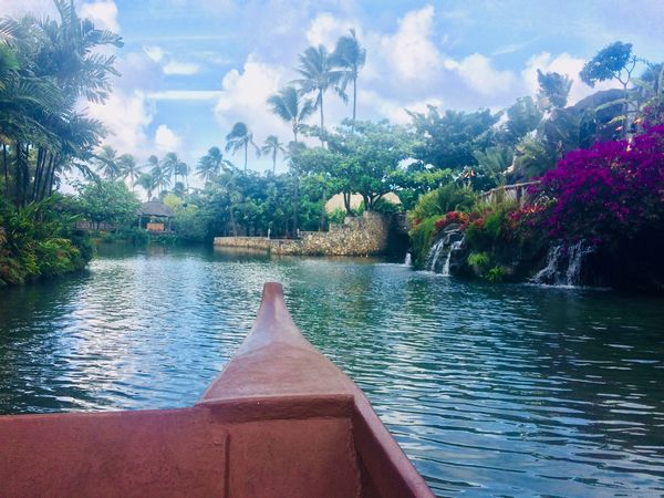 Summer Fun Paradise Tourism Canoeing Waterfall Outdoors Splash Tour Hawaii Canoe Adventure Blessed  Polynesian Cultural Center Luckywelivehawaii Tourist Attraction  Laie Freshwater Alwayssummer  ILoveWater 808state