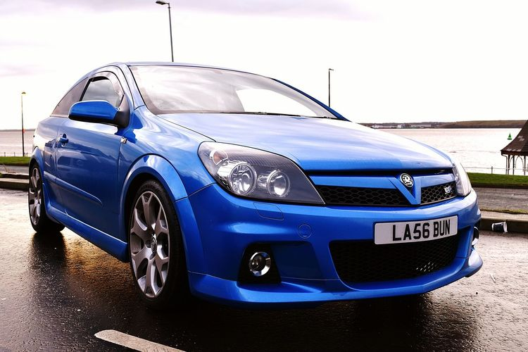 Car Blue Transportation Cloud - Sky Old-fashioned Luxury No People Collector's Car Sky Outdoors Close-up Day VXR Astra Land Vehicle Transportation