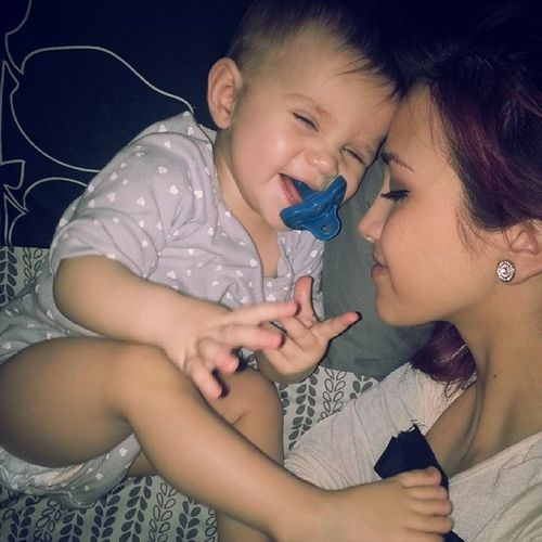 Silly little thing <3 Mommyandme Sillybaby MomentsILiveFor AllSmiles