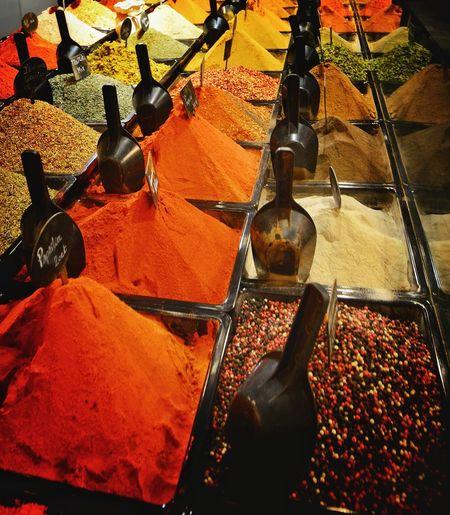 Fresh Herbs  Colors Market Market Stall Curry Spices Of The World Spices In The Market Spices Of Morroco Rotterdam