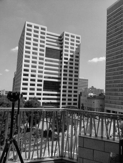 Discovering life through a lens Blackandwhite Skyscraper Atlanta Ga Midtown