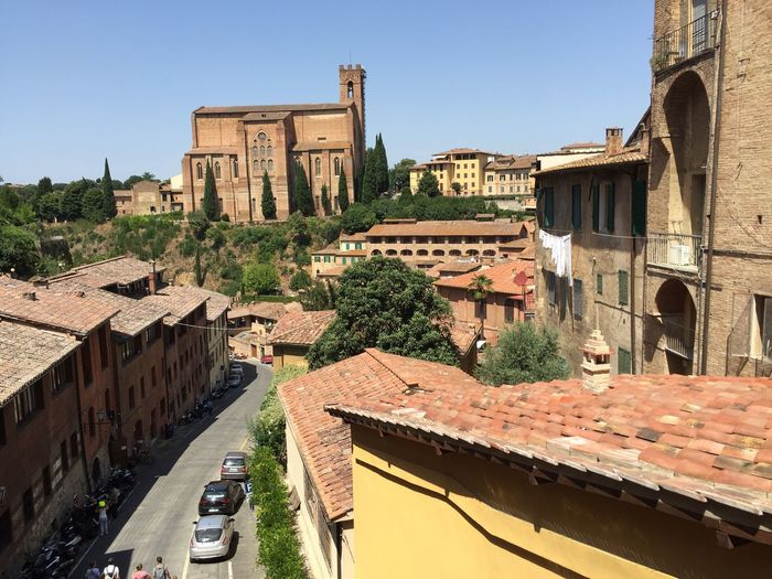Siena Toscana Italy Architecture Street Visiting Beautiful July 2016
