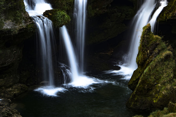 Australia Traunfall Beauty In Nature Blurred Motion Environment Falling Water Flowing Flowing Water Long Exposure Motion Msscr Nature No People Outdoors Power In Nature Purity Rock - Object Rock Formation Scenics - Nature Stream - Flowing Water Tree Upperaustria Water Waterfall