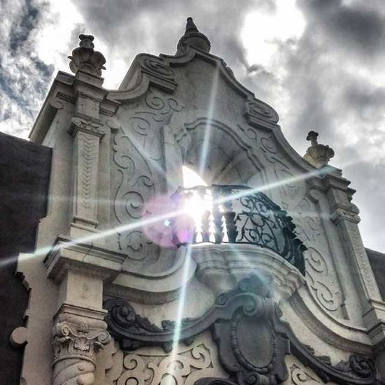 Building Architecture Los Angeles, California Train Station Glendale, California 1900's Buildings 1924 Sky And Clouds Sunflare